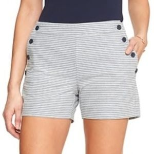 Banana Republic Dobby Striped Sailor Shorts